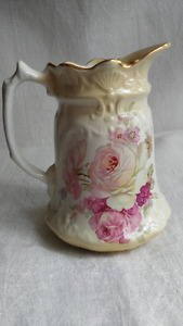 Vintage ceramic James Kent Old Foley Victoria Rose Pitcher