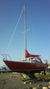 25' C&C sailboat, good condition and ready to sale