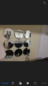 Museum of Modern Art - 2 pce wall mirrors- set $100