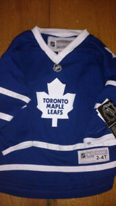 New Youth 2T-4T Reebok Toronto Maple Leafs Jersey With Tags On
