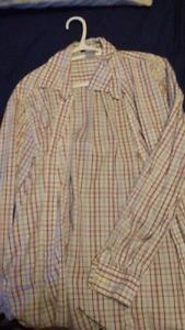 Men's Dress Shirts (1) L-XXL