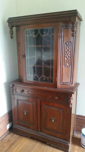 Antique China Cabinet - REDUCED - Updated Pictures