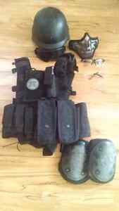 Paintball airsoft gear