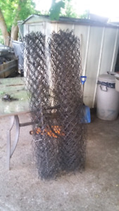 35 ft of 5ft black fence posts fittings Ect $100