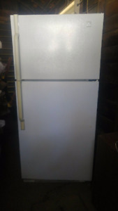 Great condition Maytag white fridge