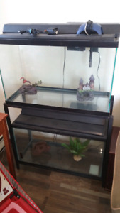 30 Gallon fish tanks and stand