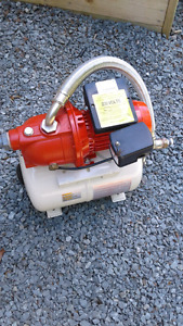 Red Lion pump and tank