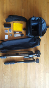 Starter Pack DSLR Camera Kit. NIKON, Cannon, Fuji