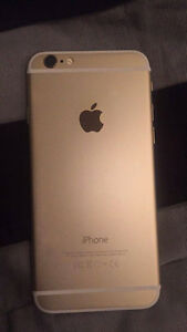IPHONE 6 16 GB GOLD BELL/VIRGIN LIKE BRAND NEW