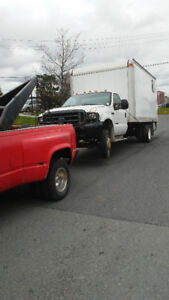 sling style tow truck boom