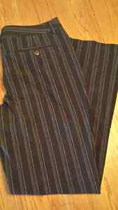 Rickis stripped dress pants size 12