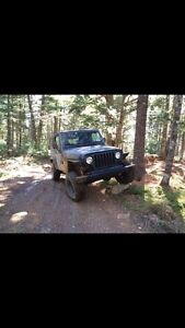 Jeep tj for 4 wheeler