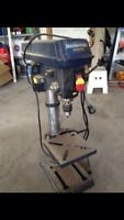MASTERCRAFT DRILL PRESS WITH LASER FOR SALE $100 FIRM