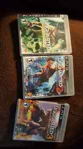 Uncharted collection for PS3