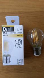 Diall B22 bulbs