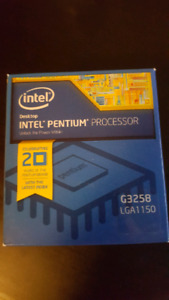 Intel Pentium G3258 (Overclocks of up to 5.0GHz)