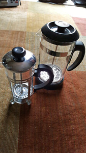 2 press coffee and tea makers
