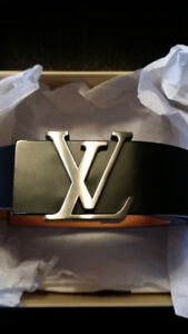 "AUTHENTIC LV Belt + Box. 32"" Waist. 9.5/10 Condition. $400 OBO."