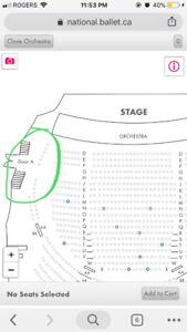 3 tickets to The Nutcracker Dec 14th 7pm in Toronto! Good seats!