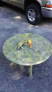 Camouflage Man Cave Cottage Coffee Table