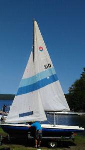 Voilier dériveur - Mistral 470 - Sailboat dinghy