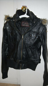 Pure Leather Jacket - Mint Condition Size S