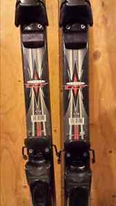 Down hill Rossignol skis and Boots