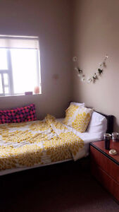 Furnished Bedroom with Ensuite Bathroom May 1-Sept 1