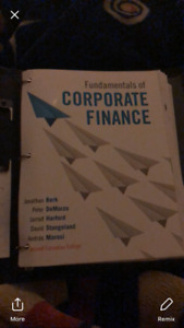 Fundamentals of corporate finance ryerson kijiji in ontario buy fundamentals of corporate finance second canadian edition fandeluxe Images