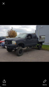 Ford f250 xlt 4x4 turbo diesel 7.3L truck forsale low km saftied