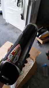 S1R CARBON FIBER RACING FULL EXHAUST SYSTEM *NEW*