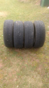 Studded Tires off of 2012 Honda Civic