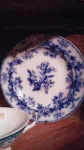 Antique Flow blue / Wedgewood many other assorted China Kingston Kingston Area image 5