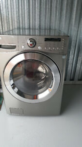 LG Front-Load 4.5 Cu. Ft. Capacity Washer Silver