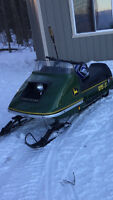 Wanted: John Deere snowmobile