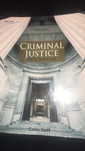 Criminal Justice in Canada - University of Windsor