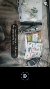 Wii with all cables with 2 games all for $45