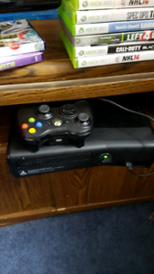 Xbox360 + kinetic+ controller+ kin.games+games