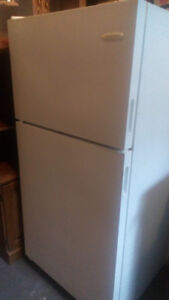 Stove $40 and fridge $150 available today.