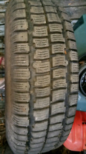 Two M&S 205/75R14 tires for sale