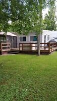 MUST SEE!! 30 ft Trailer & add a room