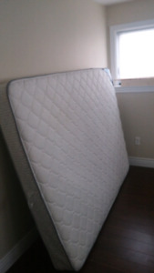 Queen Matress and adjustable bed frame
