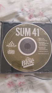 Labatt blue music Sum 41 2004 cd