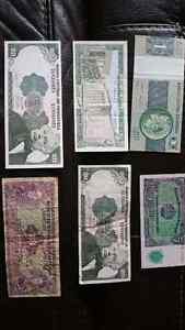 Various paper currency lot  London Ontario image 2