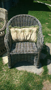 Brand New Hand Woven Rattan Dining Chair Arm Chair Kobu Sarnia Sarnia Area image 10