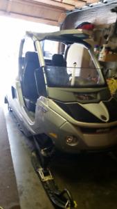 Elite Snowmobile  Fun for two
