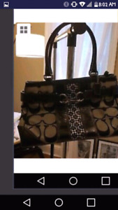 Coach purse excellent condition