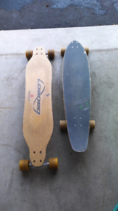 Sector 9 and loaded Longboards