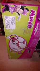 "Brand new in Box 14"" Minnie Mouse Bicycle"