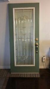 Front storm door